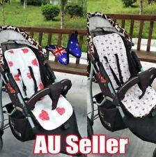 Reversible Cotton Filled Pram Liner Seat Liners Pram & Stroller Accessories