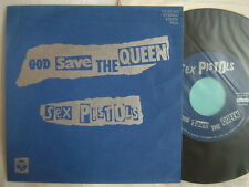 SEX PISTOLS GOD SAVE THE QUEEN / NM MINT- CLEAN COPY 7INCH