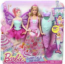 Barbie Fairytale Doll and Dress-up Candy Kingdom Set