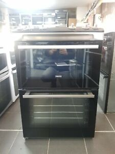New Unboxed Zanussi ZCV66060XE 60cm Electric Ceramic Cooker Stainless Steel