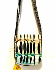 Messenger Bag Bohemian Crossbody Style Karma Circle USA Small One-of-a-Kind