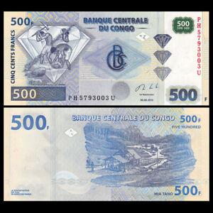 Congo Democratic Republic 500 Francs, 2013, P-96b, UNC