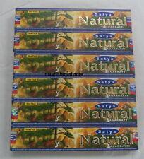 12 X 15 Gram Each Boxes Satya Sai Nag Champa NATURAL Incense Sticks LOWEST PRICE