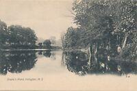 IRVINGTON NJ – Drake's Pond – udb (pre 1908)