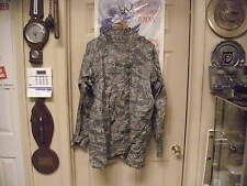 Us Army Issue ACU Camo Pattern Improved Rainsuit Parka Size Medium