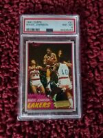 1981 Topps Magic Johnson #21 PSA 8. Beautiful centering. Regrade to a 9 or 10.
