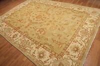 "8'2"" x 11'6"" Hand Knotted 100% wool Turkish Oushak Area rug Veg Dye"