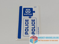 ⭐️LEGO 60176 CITY POLICE WILD RIVER ESCAPE - STICKER SHEET ONLY - NEW⭐️
