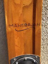 "New listing Maherajah Waterski - 64.5"" Beautiful Wood 164cm Ski w/ Case - FREESHIP"