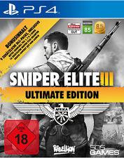 PS4 Spiel Sniper Elite 3 III  - Ultimate Edition NEUWARE