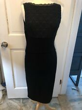 2. NWT Bluemarine Crochet Black Low Back Pencil Dress 8-10 46 $1000