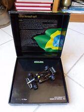 Lotus Renault 97T Ayrton Senna #12 GP Portugal 1985 Minichamps 1/43 F1 box
