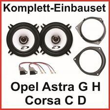 Lautsprecher Set Opel Astra G H Corsa C D Alpine SXE-1325S 2 Wege System hinten