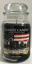 Yankee Candle BOSTON STRONG 22 oz Collectors Jar