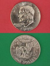1974 P Uncirculated Clad Eisenhower Ike Dollar From Mint Set Flat Rate Shipping