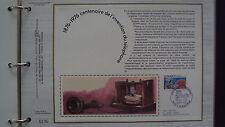 Document Philatélique - Centenaire de l'invention du téléphone - 25 septembre 76