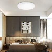 Super Thin Disk LED Ceiling Downlight Lamp Modern Home Fixture Cool/Warm White