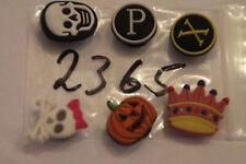 6 Pins für Clogs,Charm,Stecker,neu,#2365