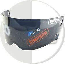 Simpson casco negro visera para M30 bandido