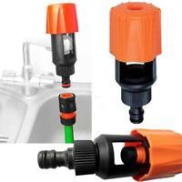 Universal Tap To Garden Hose Pipe Connector Mixer Kitchen Tap Adapter Orange