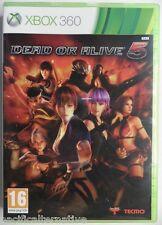 OCCASION jeu DEAD OR ALIVE 5 pour xbox 360 francais action combat game fight