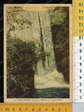 40603] AREZZO - PIAN DI SCO - CASCATA SUL FIUME RESCO 1954