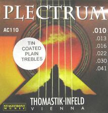 THOMASTIK AC110 PLECTRUM ACOUSTIC GUITAR STRINGS SET 10-41 NEW