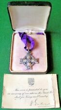 WW1 CANADIAN MEMORIAL CROSS WITH CASE OF ISSUE & CARD, PTE FRASER,28TH CAN.INF