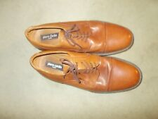 PIERRE CARDIN LACE UP SHOES LIGHT BROWN 46
