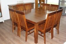 8 Seater Solid Timber Dining Table