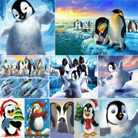 Penguin DIY Full Drill 5D Diamond Painting Crafts Kits Animals Arts Decors Gifts