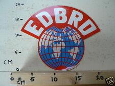 STICKER,DECAL EDBRO LARGE