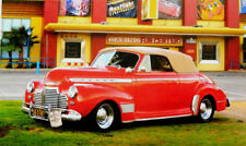 """500 Pcs Puzzlebug Puzzles 1941 Red Chevy Convertible  18.25"""" x 11"""" Jigsaw Puzzle"""