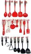 Betty Crocker Kitchen Utensils Red Silicone, Melamine, Rubber, Plastic