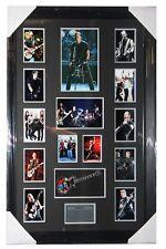 "James Hetfield ""METALLICA"" Signed Photo with Replica Mini Guitar"
