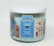 """Bath and Body Works Holiday LONDON """"Tea & Biscuits Candle NEW"""