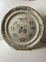 "International Heartland 7774 Farm Country Stoneware 10.5"" Single Dinner Plate"