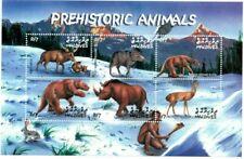 MODERN GEMS - Maldives - Dinosaurs - Sheet Of 6 - MNH