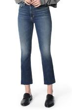Joe's Jeans LA Callie Raw Hem Crop Bootcut Leg in Payton W30 L26'' Was £188
