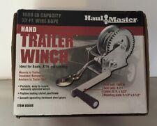 1/2 Ton Capacity Hand Crank Gear Winch, Portable hand winch