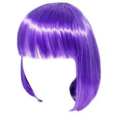 Economy Purple Bob Wig ~ADULT/TEEN HALLOWEEN SHORT BOB COSTUME COSPLAY PARTY WIG