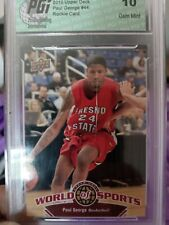 2010-11 Upperdeck Paul George RC Graded 10 (crack does NOT affect card.