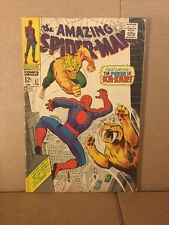 Amazing Spiderman #57 good plus