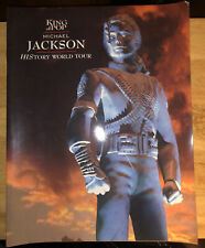 Michael Jackson History World Tour Concert Programme