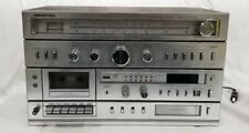 Soundesign Stereo Receiver & Cassette Recorder & 8 Track Player Model 5959 Works