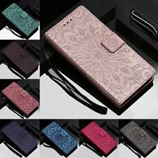 For Motorola Moto G8 G7 Play E6 Plus E7 Embossing Leather Flip Wallet Case Cover