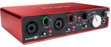 FOCUSRITE Scarlett 2i4 2nd Generation Scheda Interfaccia Audio MIDI USB