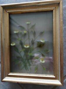 Original 3-D Oil Painting Buttercups Edmond J Nogar Signed No. B-6291 Medium Sz