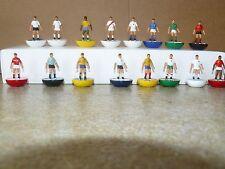 1970 juego de los equipos de la Copa del Mundo Subbuteo Top Spin Equipo