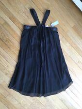 Sublime robe noire en soie BEL AIR T.1 ou 36 neuve avec étiquette!